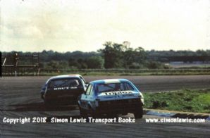 FORD CAPRIs ( Vandervall, Graham &Woodman) RAC Saloons (BTCC) photo. Silverstone 6 June 77